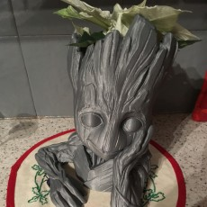 "Picture of print of Baby Groot flower pot: ""Gardens"" of the Galaxy 2 This print has been uploaded by Ulf Haugen"