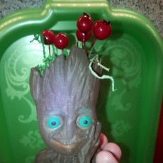 "Picture of print of Baby Groot flower pot: ""Gardens"" of the Galaxy 2 This print has been uploaded by Konstantin P."
