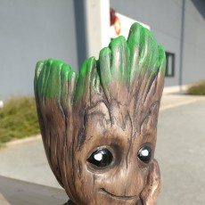 "Picture of print of Baby Groot flower pot: ""Gardens"" of the Galaxy 2 This print has been uploaded by Basil Van Thunder"