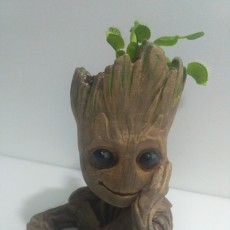 "Picture of print of Baby Groot flower pot: ""Gardens"" of the Galaxy 2 This print has been uploaded by Paulo Afonso Teodoro"
