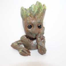 "Picture of print of Baby Groot flower pot: ""Gardens"" of the Galaxy 2 This print has been uploaded by Saxon Fullwood"