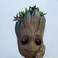 "Picture of print of Baby Groot flower pot: ""Gardens"" of the Galaxy 2 This print has been uploaded by Markus Toth"