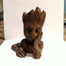 "Picture of print of Baby Groot flower pot: ""Gardens"" of the Galaxy 2 This print has been uploaded by Josh Olivera"