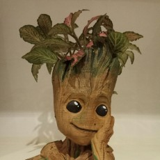 "Picture of print of Baby Groot flower pot: ""Gardens"" of the Galaxy 2 This print has been uploaded by Alex"