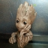 """Baby Groot flower pot: """"Gardens"""" of the Galaxy 2 print image"""