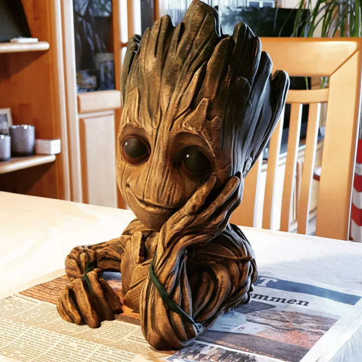 "Baby Groot flower pot: ""Gardens"" of the Galaxy 2"