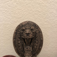 Picture of print of Lion Door Decoration
