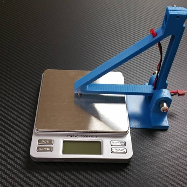 8.5mm Brushed Motor Test Stand