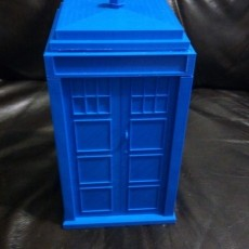 Dr. Who Inspired Police Public Call Box/Tardis