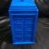 Dr. Who Inspired Police Public Call Box/Tardis image