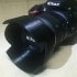 Nikon HB-69 18-55mm VRII New lens hood image
