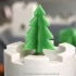 Simple 3D-printable pine tree image