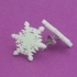 Stud earrings snowflake 2 image