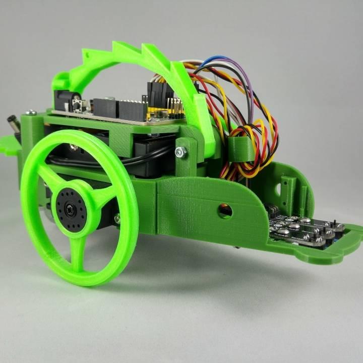 MiniQ 2WD Robot - Banana Robotics