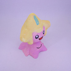 Picture of print of Jirachi from Pokemon