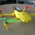Foldable drone frame image