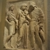 Orpheus Relief with Hermes, Eurydice, and Orpheus image