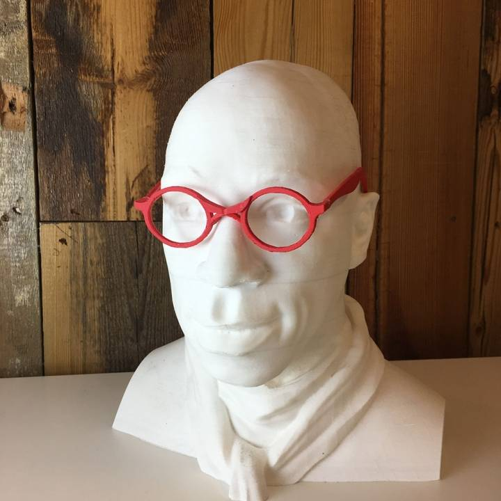 Ian Wright's Floreon 3D glasses by Akalo