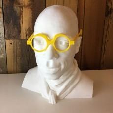 #DesignItWright - FLIPS V01 - Social Media Flip-Able Spectacles - (Round Closed Frames)