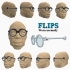 #DesignItWright - FLIPS V01 - Social Media Flip-Able Spectacles - (Round Closed Frames) image