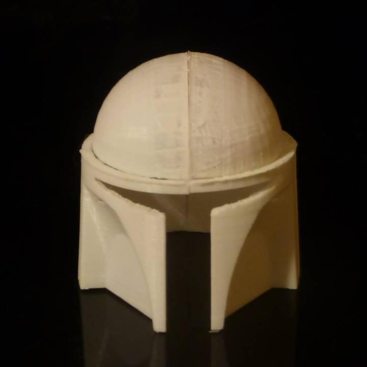 -wearable- Mandalorian Helmet MK1 (Basic)
