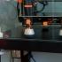 Squash ball anti vibration feet print image