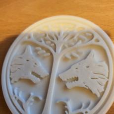 Picture of print of Destiny Emblem Coasters - The PVP Set