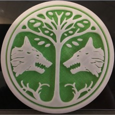 Picture of print of Destiny Emblem Coasters - The PVP Set