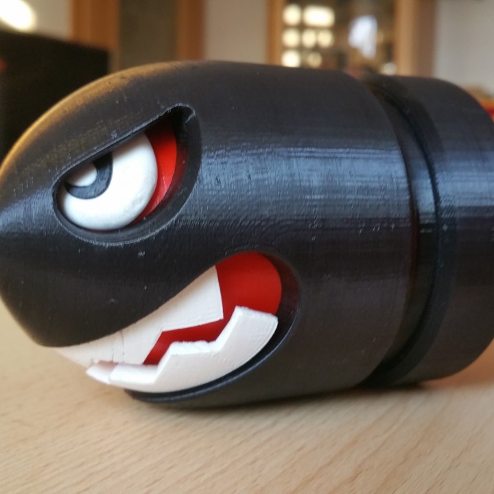 Picture of print of BULLET BILL / BANZAI BILL This print has been uploaded by ChrisCross