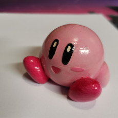 Picture of print of Kirby - Easy to Print