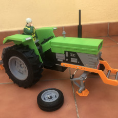 Picture of print of OpenRC tractor jack