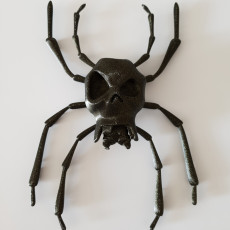 Picture of print of Skulltula
