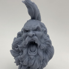 Picture of print of The Bearded Yell