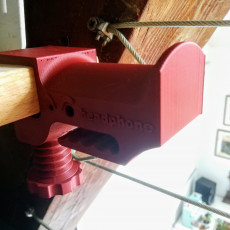 Picture of print of Monster Mouth Clampable Headphone Holder