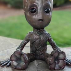 Picture of print of Baby Groot 这个打印已上传 Roman Martinez