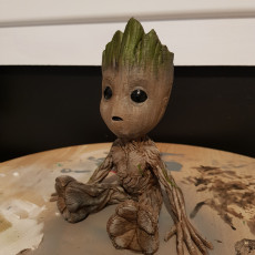 Picture of print of Baby Groot 这个打印已上传 Kylie Mitchell