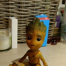 Picture of print of Baby Groot 这个打印已上传 Jack Williams