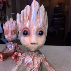 Picture of print of Baby Groot 这个打印已上传 TERRY R AALTO