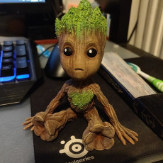 Picture of print of Baby Groot 这个打印已上传 Christos Michas