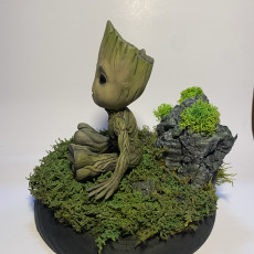 Picture of print of Baby Groot 这个打印已上传 Jordi roca arnaldos