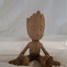 Picture of print of Baby Groot 这个打印已上传 ArcLight3d