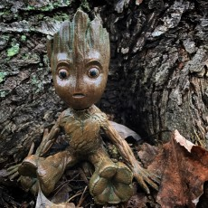 Picture of print of Baby Groot 这个打印已上传 Stephen Herron