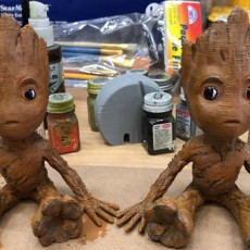 Picture of print of Baby Groot 这个打印已上传 Matthew Nicholas