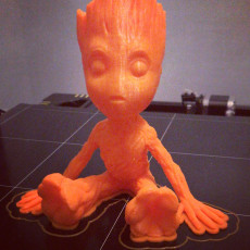 Picture of print of Baby Groot 这个打印已上传 Simon Parrott