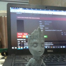 Picture of print of Baby Groot 这个打印已上传 Fasya Daud