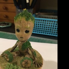Picture of print of Baby Groot 这个打印已上传 Yi Chieh  Lu
