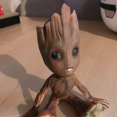 Picture of print of Baby Groot 这个打印已上传 Carl Gallop