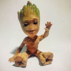 Picture of print of Baby Groot 这个打印已上传 Gianluca Magrini