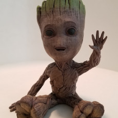 Picture of print of Baby Groot 这个打印已上传 Tim Hoover