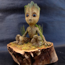 Picture of print of Baby Groot 这个打印已上传 Loic Riou